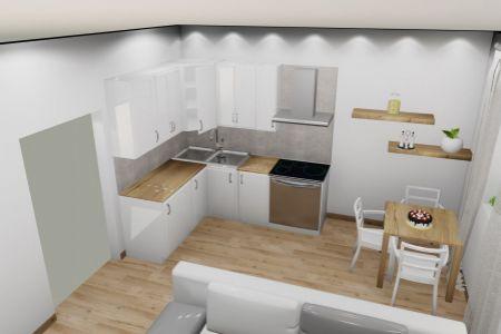 Na predaj 1 izbový byt PodG, v novom projekte