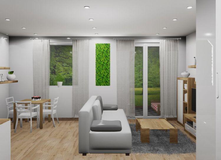 REZERVOVANÝ : Na predaj 1 izbový byt PodM, v novom projekte