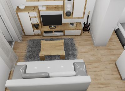 Na predaj 1 izbový byt PodN, v novom projekte