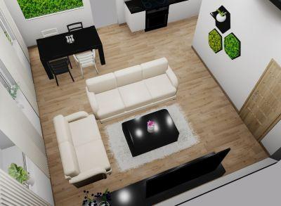 Na predaj 2 izbový byt PodR, v novom projekte