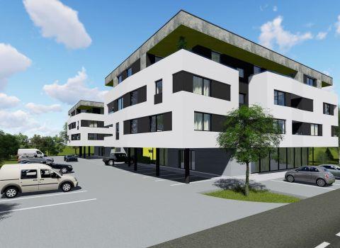 Na predaj 2 izbový byt v novom projekte CITY PARK RESIDENCE s veľkou loggiou