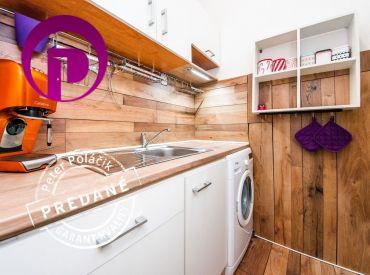PREDANÉ: 2i byt, 30 m2 – BA- Nové Mesto: zaujímavá dispozícia na menšom priestore s výborným dopravným spojením