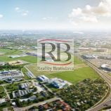 Na predaj lukratívny pozemok v obchodnej zóne Ivanská cesta/ Galvaniho, BAII