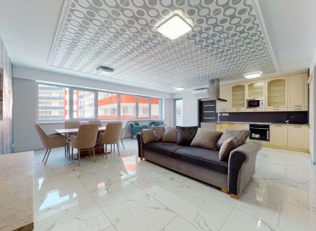 Nový zariadený 4 izb. apartmán č.22 /125,5 m2,balkón 10,9 m2,loggia 5,5 m2/ Piešťany