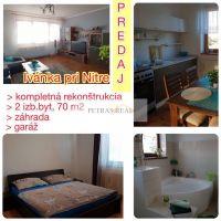 2 izbový byt, Ivanka pri Nitre, 70 m², Kompletná rekonštrukcia
