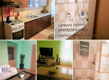 Predaj pekný 2.izb byt v Nitre v centre v tehlovej bytovke s parkovaním