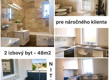 Prenájom moderný,zariadený 2.izb v Nitre v novostavbe s balkónom