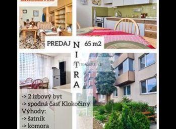 PREDANÝ veľkometrážny 2.izb byt v Nitre na Jurkovičovej ul