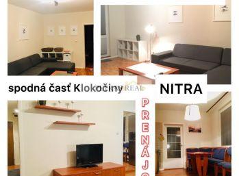 Prenájom pekný 3.izb byt v Nitre na Benkovej ul