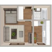 1 izbový byt, Trnava, 30 m², Pôvodný stav