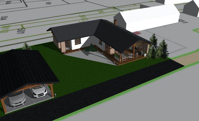 PREDAJ: Rodinný dom - novostavba na pozemku s rozlohou 884m2 v Závadke nad Hronom