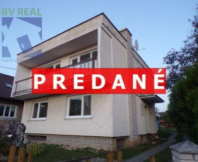 PREDANÉ Na predaj 4 izbový rodinný dom 734 m2 Kamenec pod Vtáčnikom okres Prievidza 70131