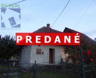 REZERVOVANÉ Na predaj podnikateľský objekt 139 m2 Cigeľ okres Prievidza 70132