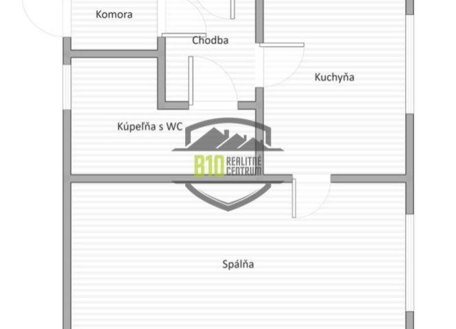 1 izbový byt - Púchov - Fotografia 1