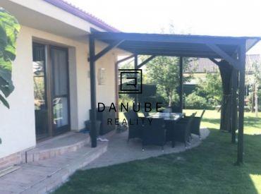 Predaj nového 4-izbového bungalovu s garážou na tichom mieste v Hrubom Šúre, okres Senec