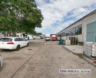 Predaj areálu administr. budovy, dielní, skladov a výrobnej haly zastv. 2447m2 pozemok 4124m2