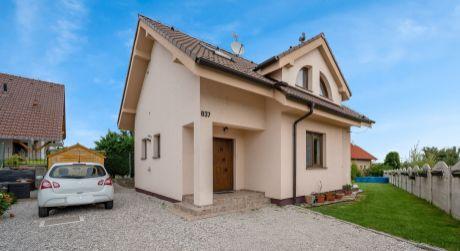 Kuchárek-real: Ponuka 4 izbového rodinného domu v Budmericiach