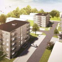 1 izbový byt, Kúty, 36 m², Vo výstavbe