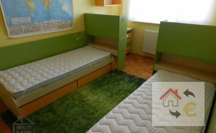 Veľký zariadený 3 izbový byt s loggiou na prenájom, Prešov - Šváby.