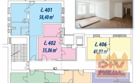 Predaj: 2 izbový byt, Gunduličova ulica, Bratislava I, Staré Mesto, balkón,  výťah, kompletná rekonštrukcia, v ponuke 1-4 izbové byty od 38,80 - do 102,73 m2