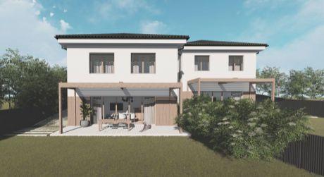 Novostavba nízkoenergetického 5 izbového rodinného domu, 812 m2, Trenčianske Mitice