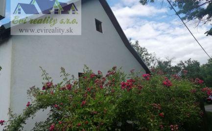 Na predaj chalupa/rodinný dom myjavské kopanice Podkylava
