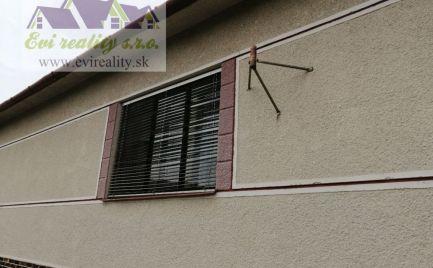 3 izbový rodinný dom v Borskom Mikuláši