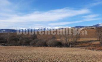 PREDAJ: Pozemok na brehu Osikovského potoka, 1098 m2, Brezno - Rohozná