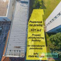 Komerčná zóna, Prievidza, 931 m²
