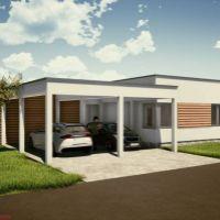Rodinný dom, Dolný Kalník, 120 m², Novostavba
