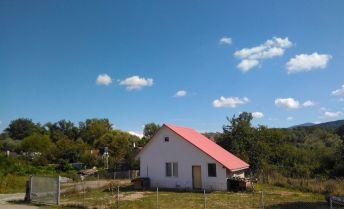 Celoročne obývateľná rekreačná chata s možnosťou TP, pozemok 512 m2