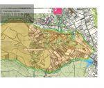 Slnečný rovinatý pozemok na výstavbu rodinných a bytových domov, 4086 m2, Trenčianske Jastrabie