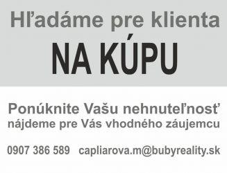 Kúpa rodinný dom Pov.Bystrica a okolie