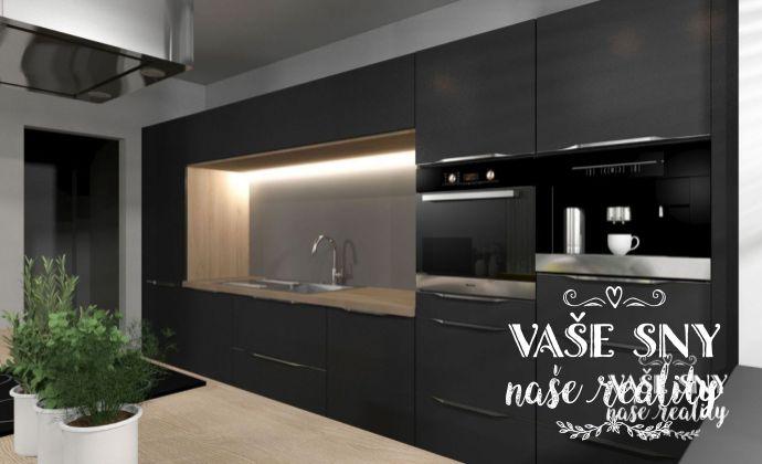 Slnečný  3 izbový byt s terasou v centre mesta Nové Mesto nad Váhom a podzemnou garážou v novostavbe bytového domu