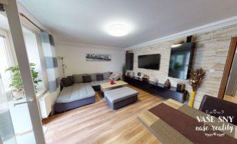 Rezervované - 3 izbový byt v centre mesta s luxusnou 30m2 terasou, Olbrachtova ulica, Trenčín