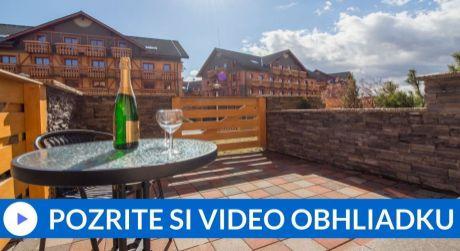 EXKLUZÍVNE: PREDAJ 2 totožné apartmány s terasou (39,27 m2) - TATRAGOLF Veľká Lomnica