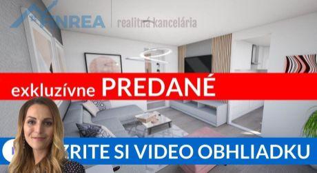 PREDANÉ EXKLUZÍVNE  Predaj 2-i bytu (61m2) na Brezovci