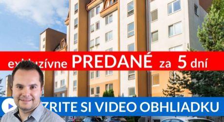 PREDANÉ EXKLUZÍVNE 2-i byt (53m2) s výhľadom, ktorý si zamilujete