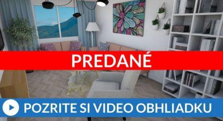 PREDANÉ 3-izbový byt s exkluzívnym výhľadom na mesto
