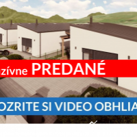 Rodinný dom, Veličná, 78 m², Novostavba