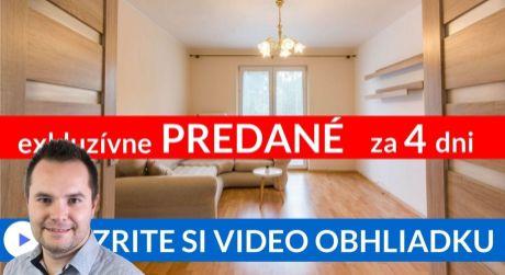 PREDANÉ EXKLUZÍVNE 2-i byt s balkónom a krásnym výhľadom - Tatranská cesta II