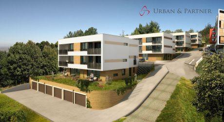 3 izbový byt s terasou a záhradkou vo výstavbe v unikátnom projekte bývania vo VILADOMOCH na Starých Gruntoch.