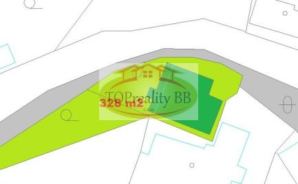 ZĽAVA !!  Rodinný dom s pozemkom 328 m2, v Banskej Bystrici, širšie centrum – cena  170 000€