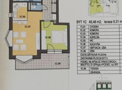 Areté real- ponúkame Vám veľký 2-izb. so záhradkou v Senci