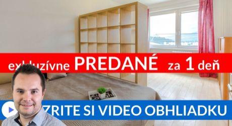 PREDANÉ EXKLUZÍVNE 1 izbový byt s nízkymi mesačnými nákladmi - Brezovec