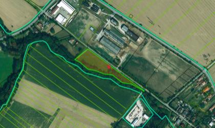 Pozemok pre komerčnú výstavbu(povolená aj výstavba RD) Šišov