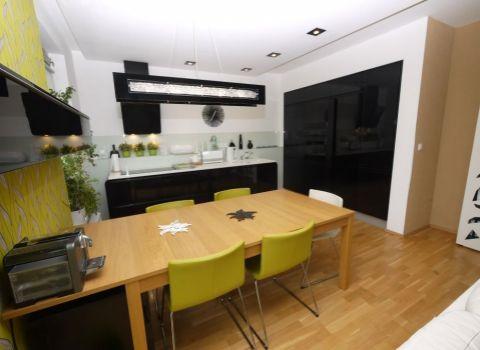 Prenájom, exkluzívny 3- izb. byt (86,83 m2 + 2,20 m2 balkón a 5,50 m2 loggia) s garážovým státím v novostavbe rezidenčnej štvrte Vinohradis, ul. Tupého, Bratislava III – Vinohrady
