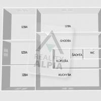 4 izbový byt, Nové Zámky, 86 m², Čiastočná rekonštrukcia