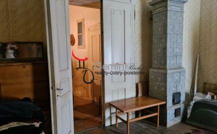 GEMINIBROKER Vám ponúka gazdovský dom v obci GONC