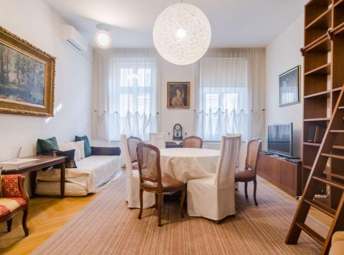 TALLEROVA, 3-i byt, 105 m2 – 2 BALKÓNY, 2 KÚPEĽNE, kompletná rekonštrukcia BYTU aj DOMU